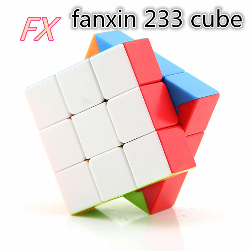 New Fanxin 2x3x3 Speed Cube FANXIN 233 Puzzle  Magic Cubo 3x3x2 Magic Cube Strange Cube Education Kid Toys