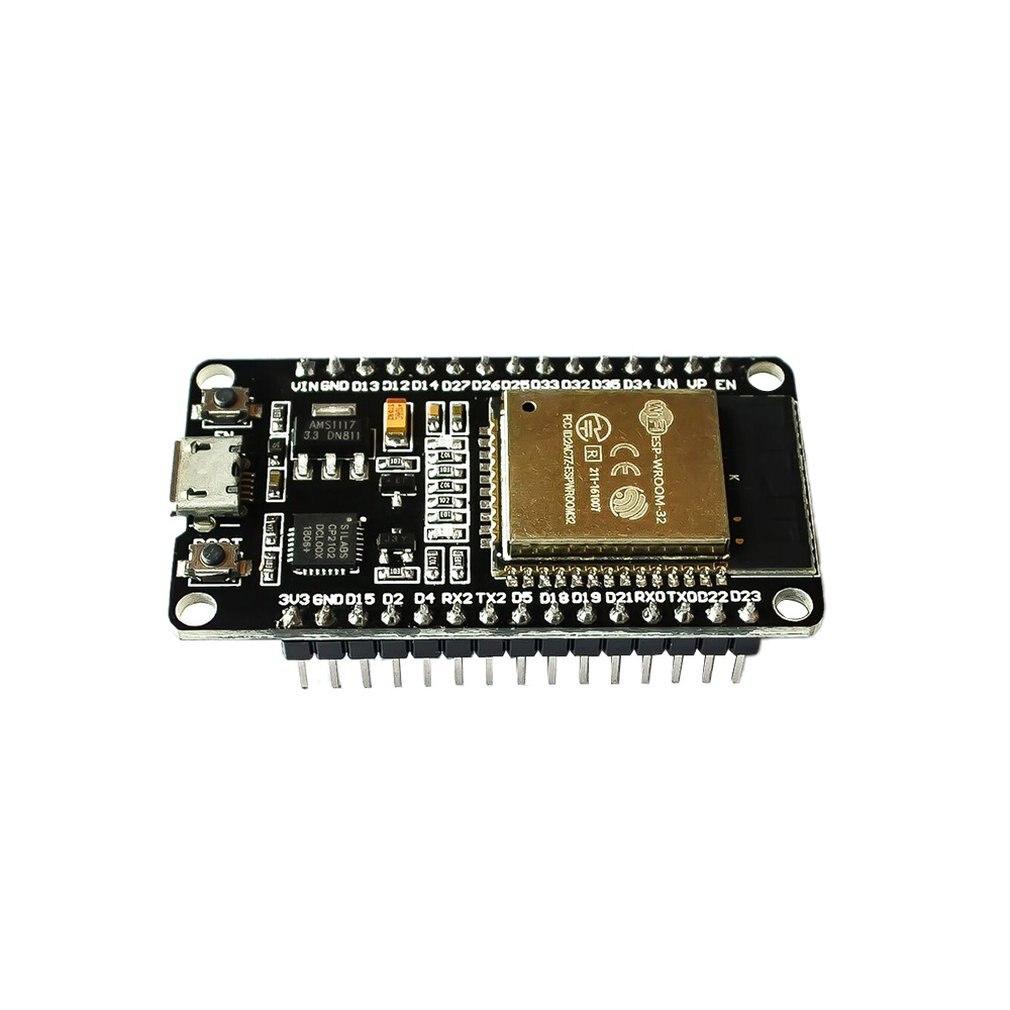 WiFi Беспроводная плата разработки припоя заголовок фильтр Модуль для ESP-32 усилитель мощности микро USB двухъядерный