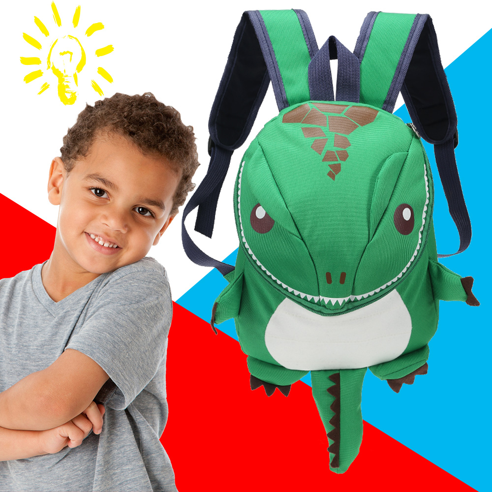 3D Dinosaur Backpack For Boys Girls Children waterproof backpacks kids kindergarten Small School Bag Girls Animal School Bags 1