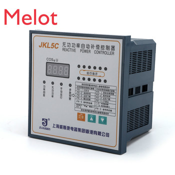 Intelligent Reactive Power Automatic Compensation Controller JKL5C-4/6/8/10/12 Circuit Hot Selling Product Kit Tool 1pcs ac 230v 6 4 a ac 120v 12 6 a 5e4 electric power tool plastic speed controller switch fa 8 1fe 6 positions color randomly