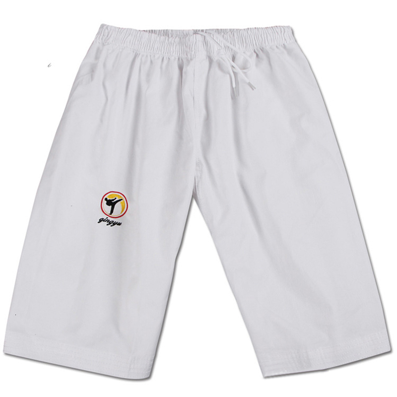 Children 100 Cotton Taekwondo Pants Adult Taekwondo Clothing White Black Trousers Men Women Taekwondo Training Pants