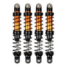 2PCS 4PCS Metal Shock Absorber Oil Adjustable Damper for 1/10 RC Rock Crawler Axial SCX10 90046 AXI03007 Traxxas TRX4