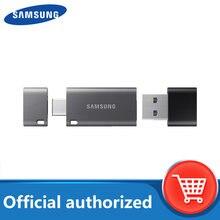SAMSUNG USB Flash disco 32G 64G 128G 256G Pen Drive USB tipo C USB 3,1 Tipo de un Pendrive memoria teléfono Tablet PC portátil