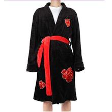 Costume Swimwear Bathrobe Naruto Long Adult Men Cloak Pajamas Itachi Uzumaki Cosplay
