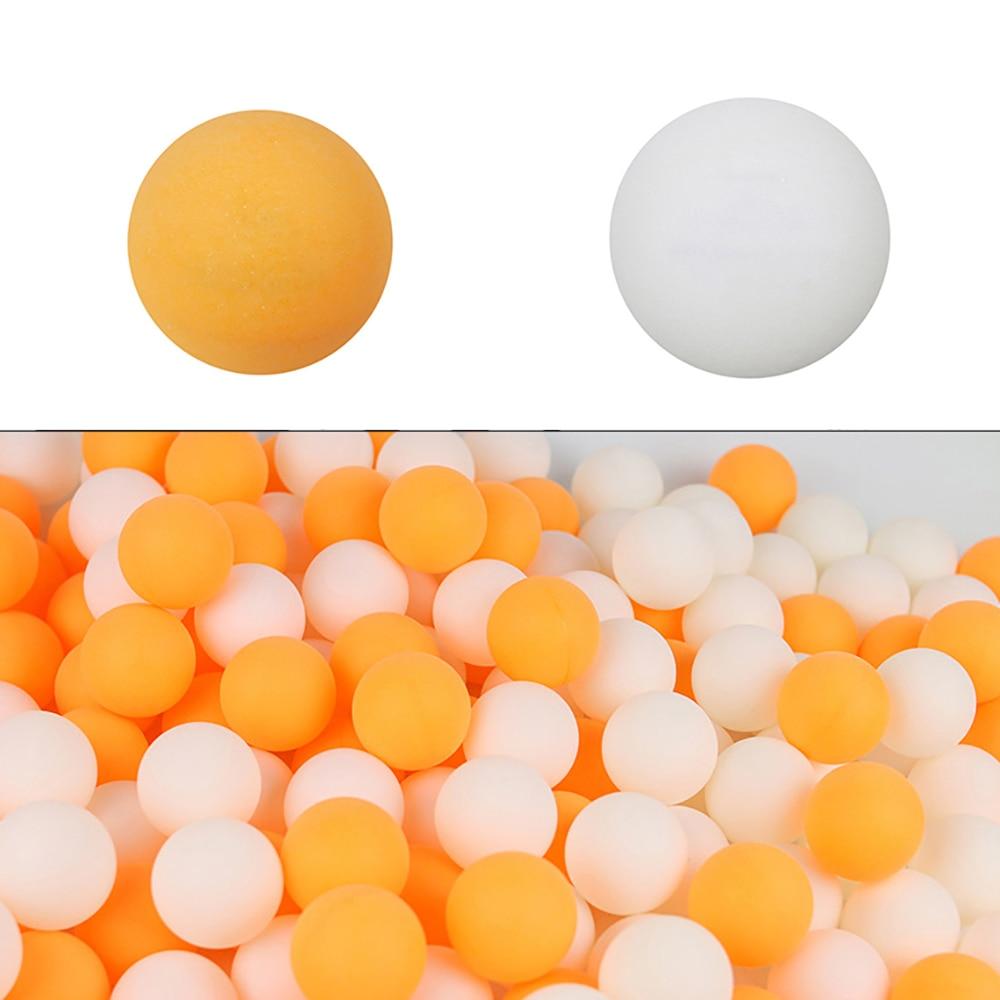 100pcs Ping Pong Balls Dia. 40mm Table Tennis Balls ABS Ball Training Sports