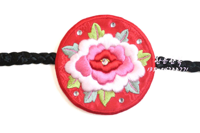 Koreaanse Originele Import Haaraccessoires/Koreaanse Kleding Hand Geborduurde Haarband/Haar Touw Groothandel Prijs - 2