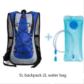 5 colors Outdoor Sports Mountaineering Backpack Camping Hiking Trekking Rucksack Travel Waterproof Cover Bike Bags 3