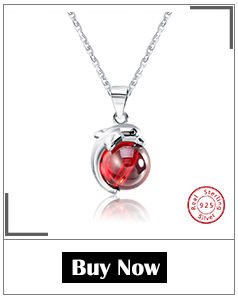 H006b1701de73420791519cab47c8e6afy ORSA JEWELS 925 Sterling Silver Red Natural Stone Cherry Pendant Necklaces for Women Genuine Silver Jewelry Necklace Gift SN03