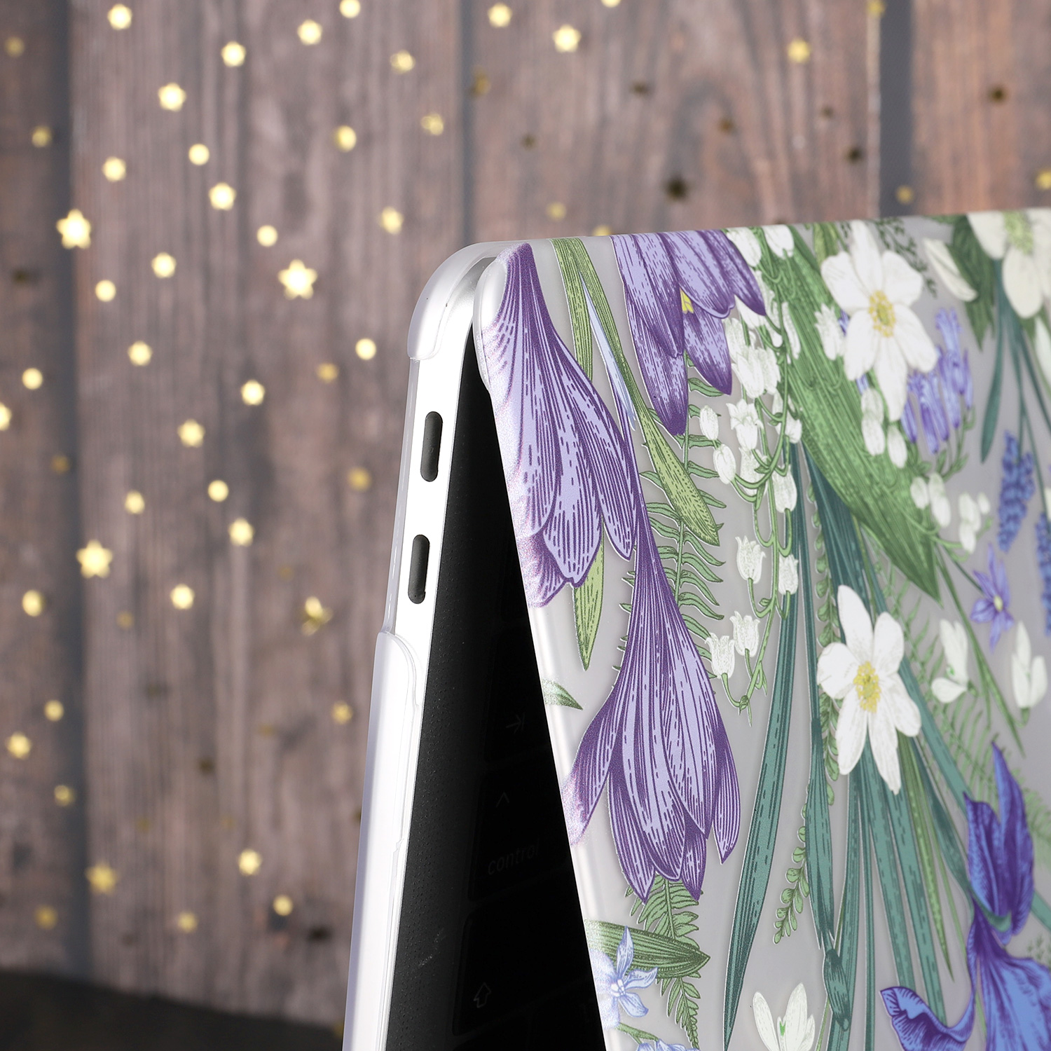 Marble Flower Pattern Case for MacBook 79