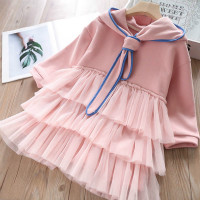 H006b5f676a224c1b86e9924bc9c6fbce4 Bear Leader Girls Dress 2019 New Autumn Casual Ruffles A-Line Striped Full Sleeve Kids Dress For 3T-7T