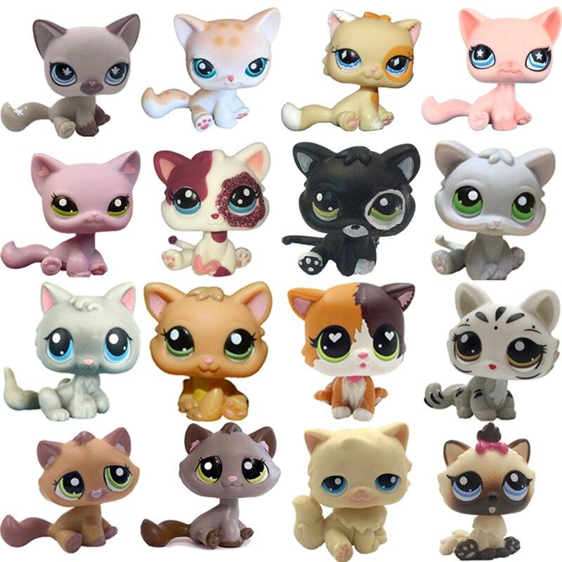 Кошка LPS редкая из коллекции pet shop, милая стоячая кошка с короткой шерстью, Такса, колли, немецкий дог, спаниель, щенок, оригинальная коллекция...