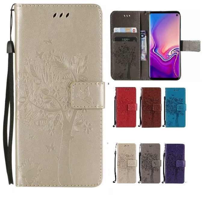 Fundas de cuero de lujo para teléfono cartera para iPhone X XS MAX XR 5C 5S SE 6 6S 7 8 Plus funda abatible con ranura para tarjeta