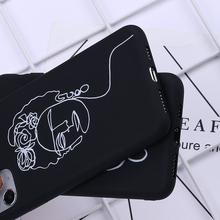 Beauty Curved Line Phone Cover iPhone 11 Pro Max X XS XR Max 7 8 7Plus 8Plus 6S SE Case SF