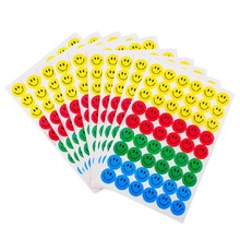 540pcs Smile Face Reward Stickers School Teacher Merit Praise Class Sticky Paper Lable adesivos Sticker For Baby Kids