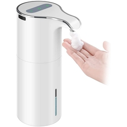 15Oz/450Ml Automatic Soap Dispenser Touchless Foaming Soap Dispenser - Rechargeable Waterproof Foam Soap Pump Dispenser