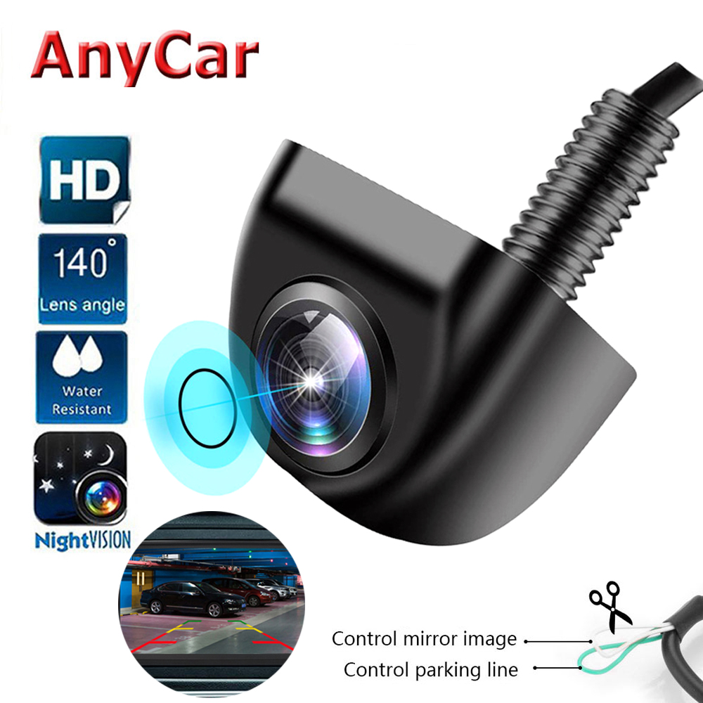 AHD 1080 Reverse camera Vehicle camera Car Rear View Camera Auto CCD HD Parking Reverse Backup Rearview Camera Degree Waterproof