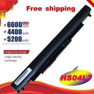 4 клетки HSTNN-LB6V 807957-001 для ноутбука Батарея для hp павильон 14-ac0XX 15-ac0XX HSTNN-LB6U HS03 HS04 240 245 250 Бесплатная доставка