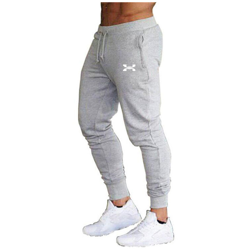 Men Joggers Casual Pants Fitness Bodybuilding Men Pants Casual Print Men  Cotton Sweatpants Slim Fit Streetwear