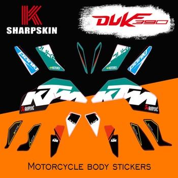 KSHARPSKIN motorcycle sticker waterproof protection fairingreflective  decal decorative film for KTM DUKE 250 DUKE 390 2017-2018
