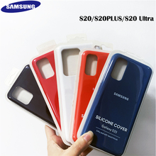 NEW Original GENUINE Samsung Galaxy Silicone Case cover For for Galaxy s20 S20 Plus 5G S20 Ultra 5G Silky Silicone Back Cover