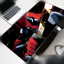 Deadpool Large Size Mouse pad Gamer 70x30cm Cartoon Skid Locking Edge Durable Mousepad Notebook Office Mat Desk mat Portable