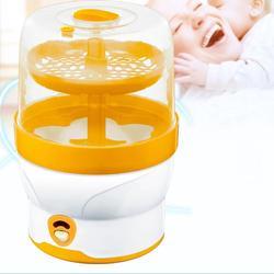Olla esterilizadora de botellas de alimentación de bebé, botella de acero inoxidable para cocinar al vapor, esterilizadora de botellas de bebé