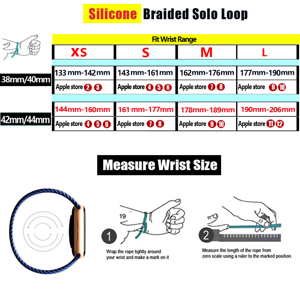 Solo Loop strap For Apple Watch Band 44mm 40mm 38mm 42mm Breathable silicone Elastic Belt bracelet band iWatch Series 3 4 5 SE 6 2