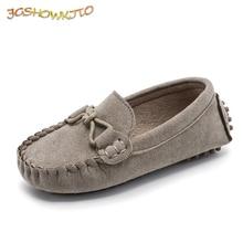 JGSHOWKITO/Лидер продаж; модная детская обувь для мальчиков и девочек; детская кожаная обувь; классические универсальные лоферы; водонепроницаемые мокасины на плоской подошве для малышей