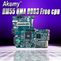 A1771573A For Sony Vaio VPCEB Laptop motherboard MBX 223 M960 Main Board 1P 009CJ01 6011 HM55 UMA DDR3 Free cpu