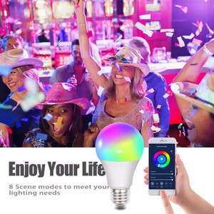 Smart Wifi LED light Bulbs 10W