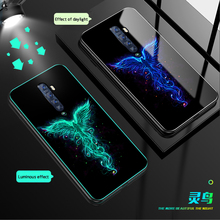 Luminous Glass Case For OPPO Reno Ace Re