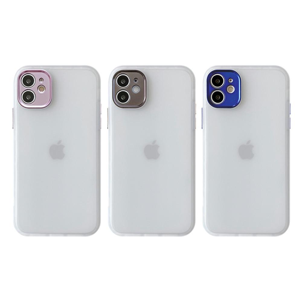 Étui de téléphone portable pour iPhone 12 pro max couvercle de placage sous vide détachable Style antichoc couverture arrière en TPU pour iphone xr