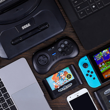 цены на M30 Bluetooth Gamepad for Sega Genesis Mega Drive Style for for Nintendo Switch macOS Steam Games Android Smartphones в интернет-магазинах