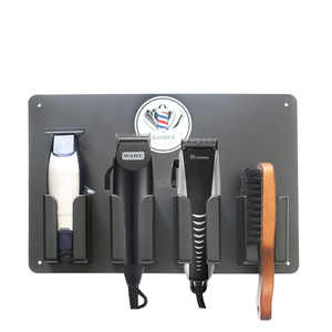 Image 2 - טמפרטורה גבוהה מקצועית כלים ספר שיער גוזז אחסון מקרה נוח ספרות אביזרי גוזז Stand מחזיק