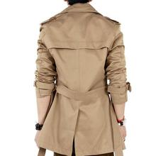 veste Trench Coat Men Classic Double Breasted Mens Long Masculino Clothing Jackets Coats British Style Overcoat S-6XL