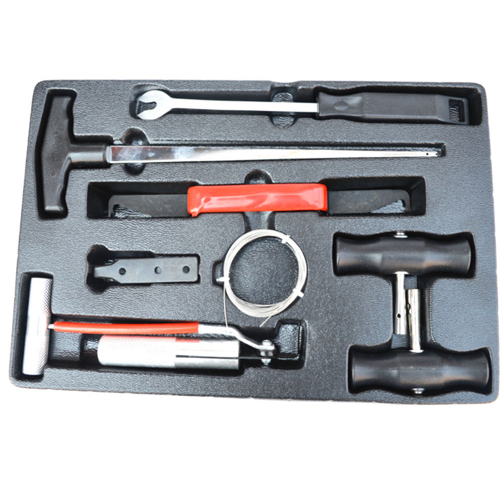 7pcs/set Car Windshield Remover Cut Tool Kit Windshield Disassembly Assembly Auto Car Window Glass Removal Car Repair Tools