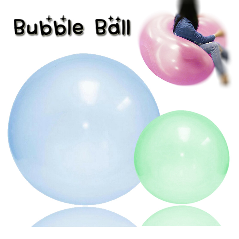 Children Outdoor Bubble Balls Air Water Filled Balloon Blow Up Toys Inflatable Bath Balloon Party Game Summer Gift For Kid