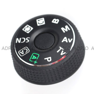 Image 2 - ADPLO SLR digital camera repair replacement parts  top cover mode dial for Canon EOS 6D