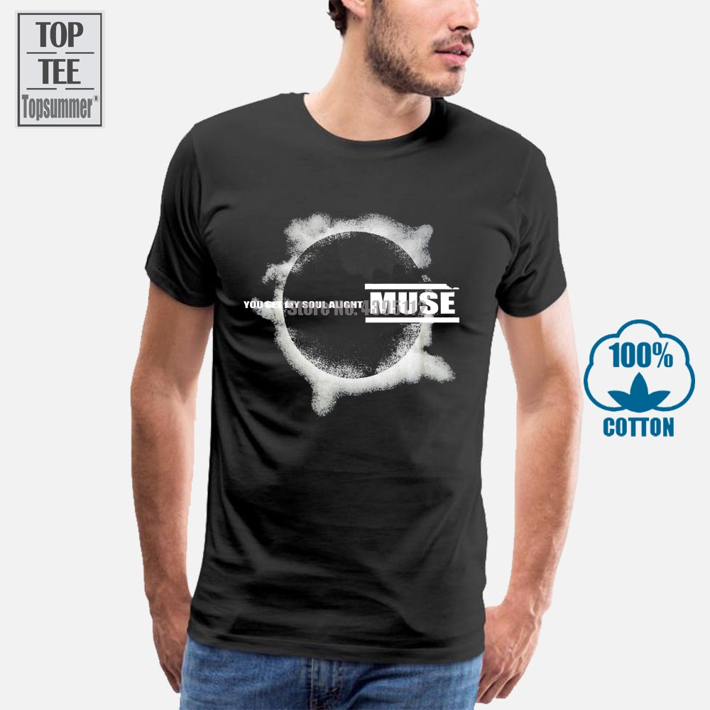 Muse Mens Eclipse T Shirt Black