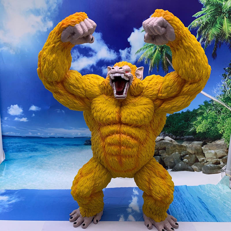 Dragon Ball Z Son Goku Ape Statue PVC Action Figures Anime Dragon Ball Super Goku Ape Model Toys 430mm