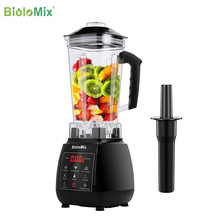 Juicer Mixer Food-Processor Professional Blender Ice-Smoothies-Fruit Digital High-Power