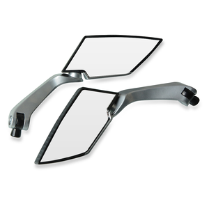 Image 4 - Motorbike Motorcycle Big Rearview Mirror Folding Side Mirrors CNC Aluminum Adjusting for yamaha tmax 530 triumph benelli trk 502