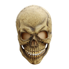 Halloween Latex Mask Zombie Horror Grimace Mask Bone Skeleton Head Cosplay Decoration Masquerade Halloween Funny Tools halloween ufo mask creepy latex ufo alien head mask for adults masquerade costume party cosplay