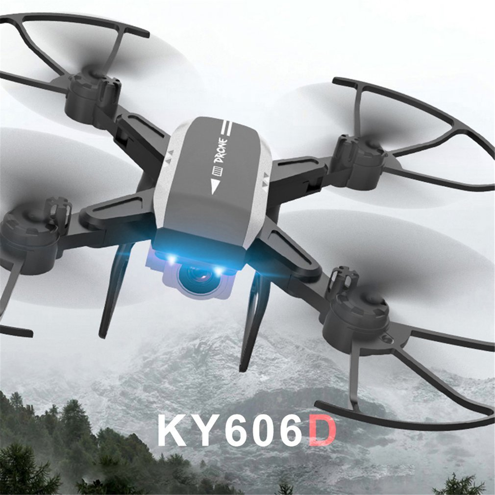 KY606D Drone with camera HD 1080P Four-axis Aircraft Long Time Flight Storage Bag Package Hover RC Helicopter