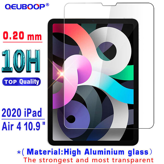 10H Glass-0.20mm Clear Magnetic Case For iPad Air 4 2020 10 9 inch flip case with Pencil Holder For