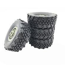 Alta qualidade 4 pçs rodas peças de reposição para wpl b36 1/16 controle remoto carro substituição rodas rc peças acessórios #40