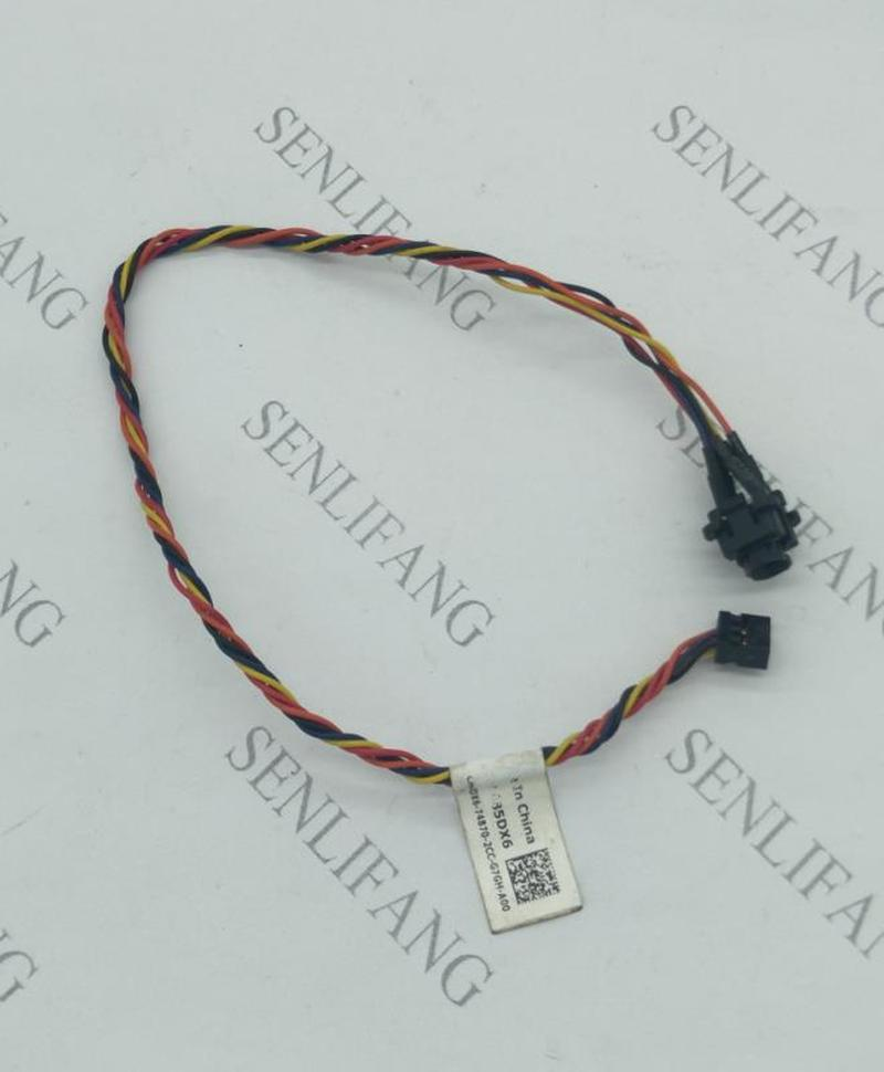 Original For Dell Optiplex 390 790 990 3010 7010 9010 085DX6 85DX6 Cn-085DX6 Power Switch Button Cable Free Shipping