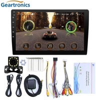 10.1 Car Multimedia Player 2 din Android Stereo Radio Bluetooth WIFI Audio Mirrorlink MP5 Player DVR Dash Cam With Rear Camera