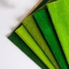 250 мм* 250 мм пейзаж трава коврик для модели поезда клейкая бумага расположение пейзажей газон Diorama аксессуары