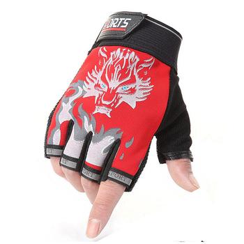 Pół palca rękawiczki wędkarskie oddychające rękawiczki bez palców rękawice jeździeckie sportowe na świeżym powietrzu jazda na rowerze piesze wycieczki rękawice wędkarskie akcesoria wędkarskie tanie i dobre opinie WS-ST-01 Anti-slip